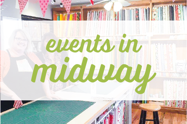 sewing events in midway utah