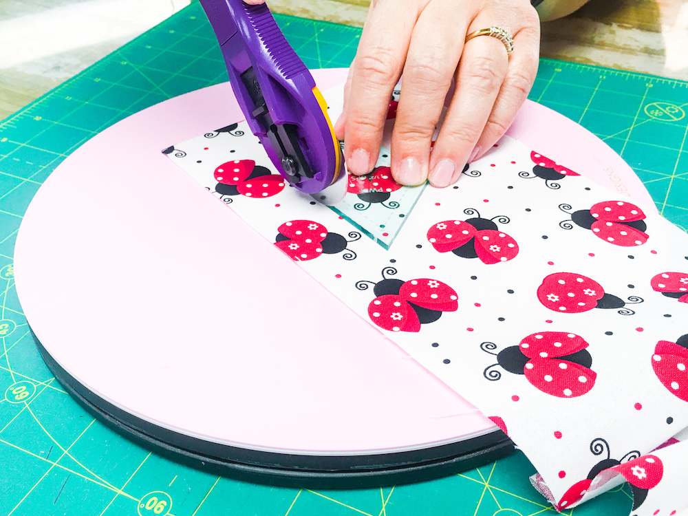 Sue Daley's Rotating Cutting Mat