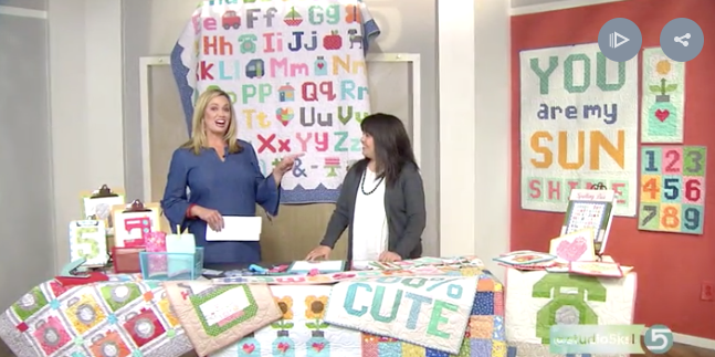 A Spelling Bee for Quilters! Watch on Studio 5!