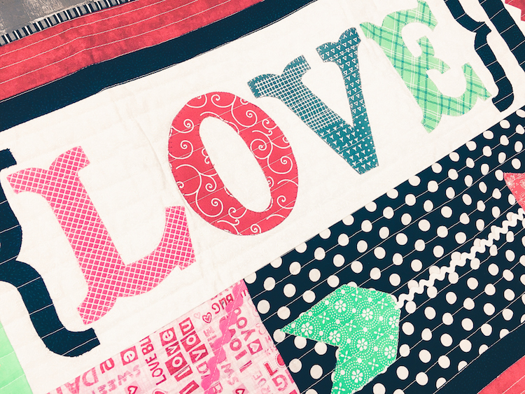 """FREEBIE: """"Love"""" Table Runner! Happy Valentines Day from the Girlfriends!"""