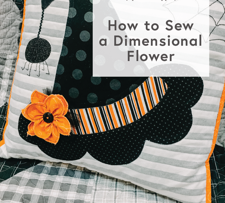 How to Make a Dimensional Flower… with Cindy!
