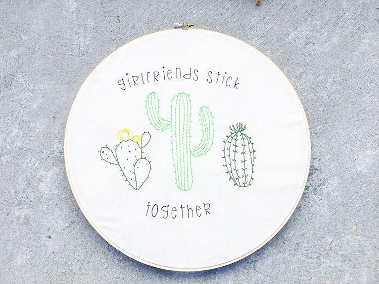 "As Girlfriends, We Gotta ""Stick Together"""