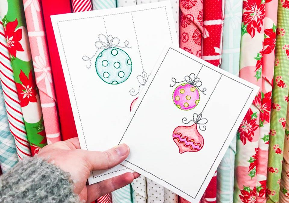 Fri-YAY Demo: Kimberbell Watercolor Cards!