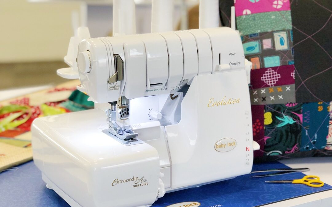 Our Favorite Features Of… The Baby Lock Evolution Serger!