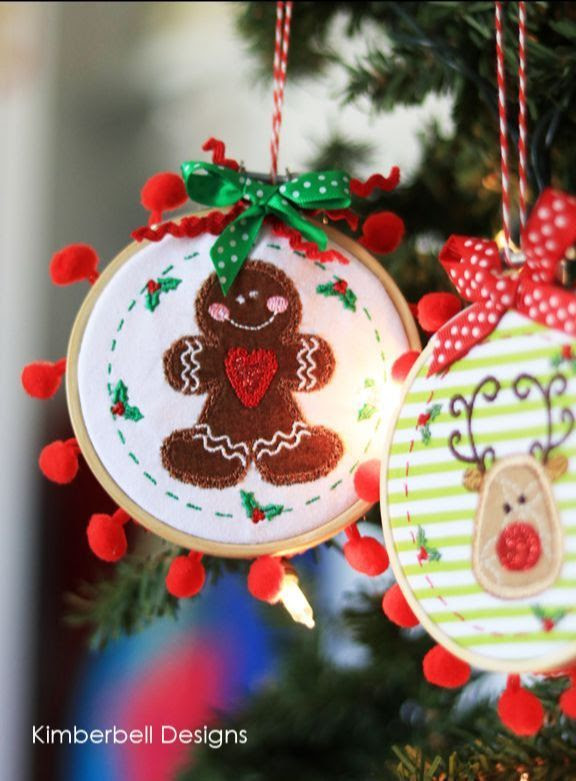 Whimsical Christmas Ornaments.Happy Hoop Decor Volume 1 Whimsical Christmas Ornaments My Girlfriends Quilt Shoppe