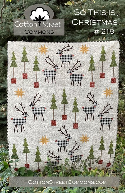 So This Is Christmas Quilt Pattern My Girlfriends Quilt Shoppe