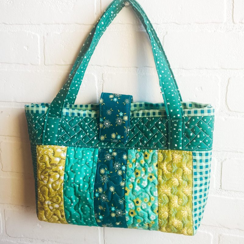 Jelly Roll Purse Online Machine Embroidery Class