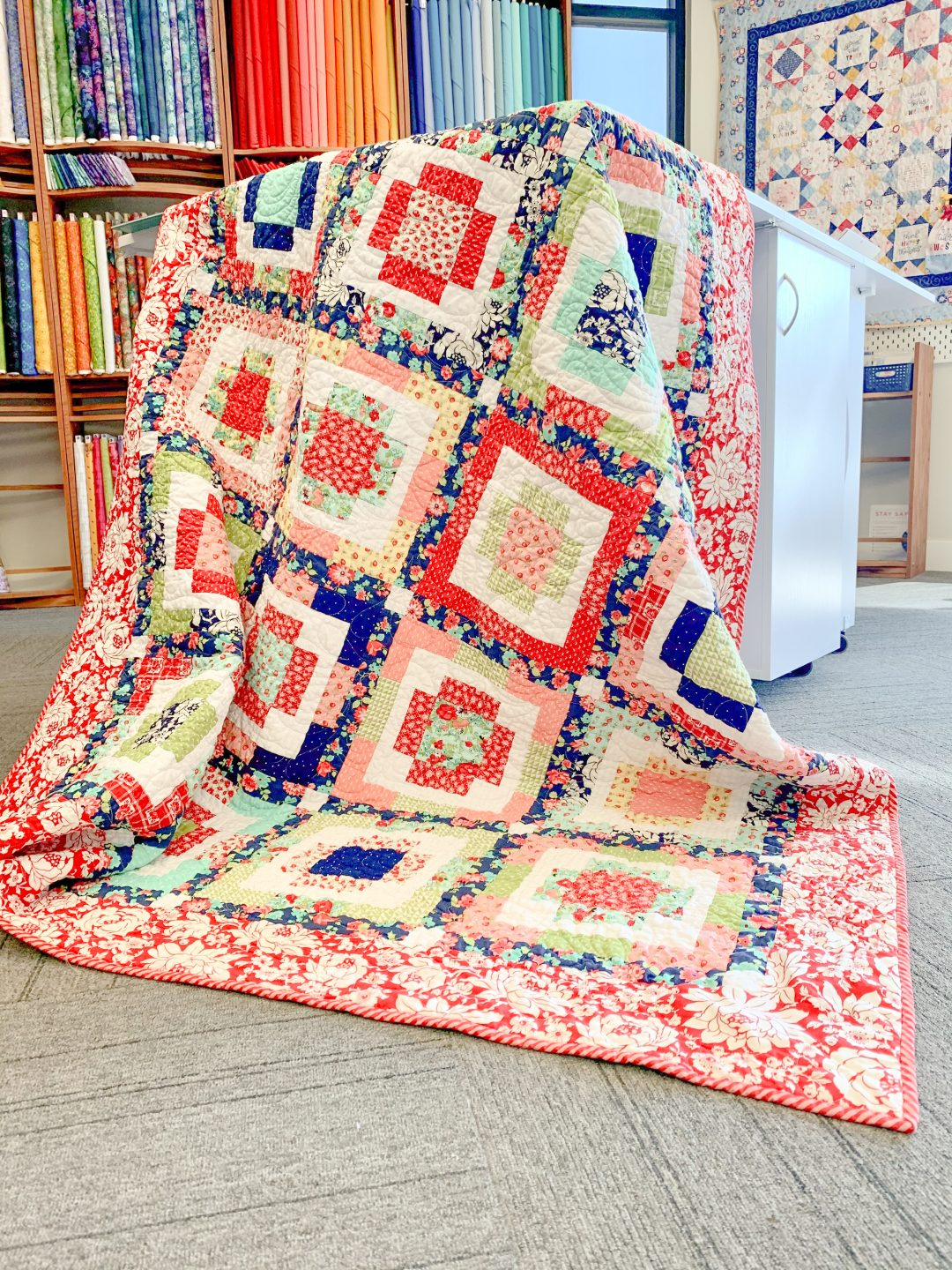 Rise & Shine Quilt from Playful Precut Quilts