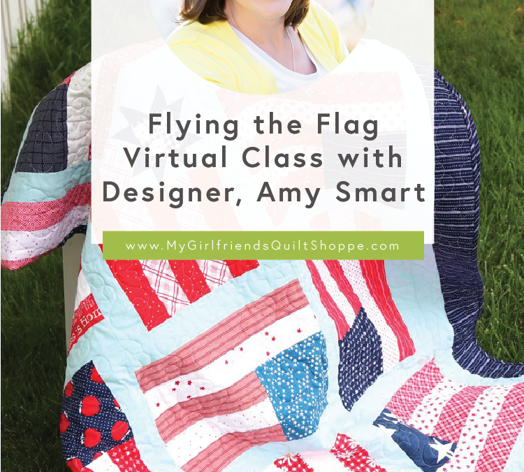 Flying The Flag with Designer, Amy Smart