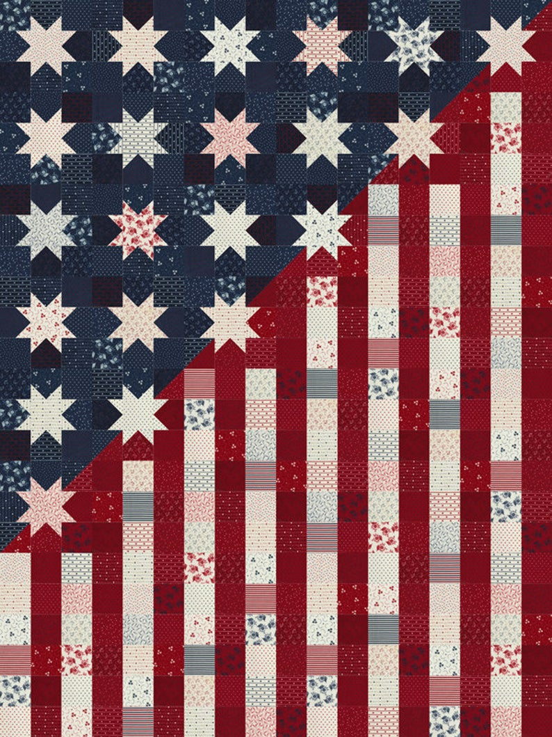 our flag stands for freedom quilt